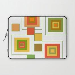 Retro Minimalist Square Design Laptop Sleeve