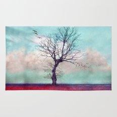 ATMOSPHERIC TREE | Longing for spring Rug