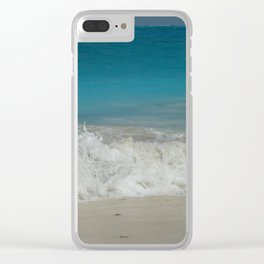 Dancing Water Clear iPhone Case