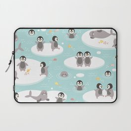 Penguins and seals Laptop Sleeve