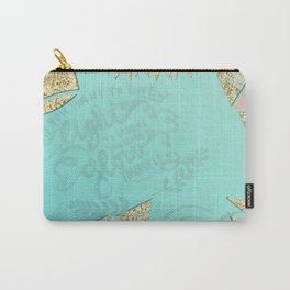 Shine Bright  Carry-All Pouch