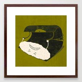 Dangerous Stretch Framed Art Print