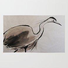 Japanese Crane Rug