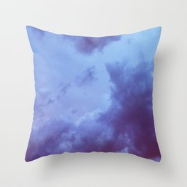 Cumulonimbus Dusk Throw Pillow
