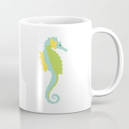Seahorse with Quote Coffee Mug