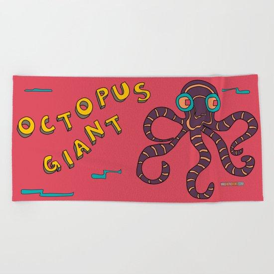 The Giant Octopus Beach Towel