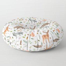 Forest team Floor Pillow