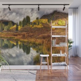 Transition Of The Seasons in Rocky Mountains Colorado by OLena Art Wall Mural
