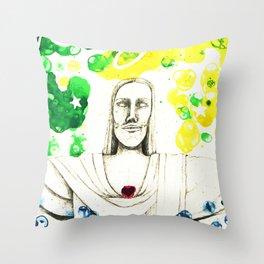 Rio de Janeiro - ALEGRIA Throw Pillow