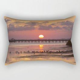 Sunset in Corolla Rectangular Pillow