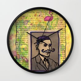 Conroy and the Night Visitant Wall Clock