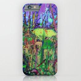 Magic mushrooms iPhone Case