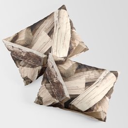 Firewood Pillow Sham