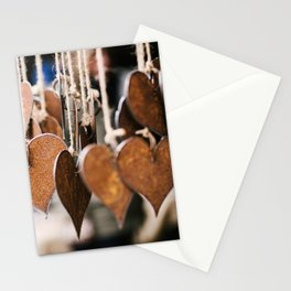 Hearts on strings Stationery Cards