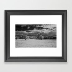 A different view. Framed Art Print