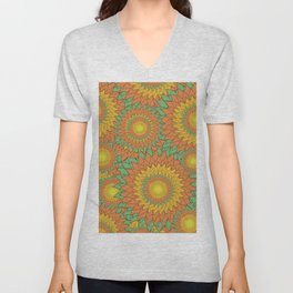 Charismatic Beauty for bloom Unisex V-Neck