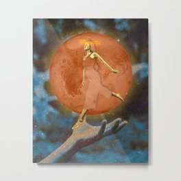 Mars Go Round Metal Print