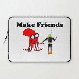 Make Friends Laptop Sleeve