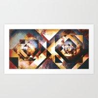 Square Root - Variation 2 Art Print