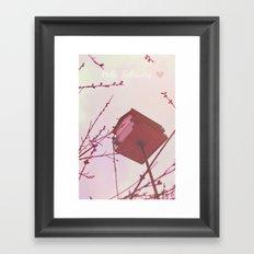 Hello, February Framed Art Print