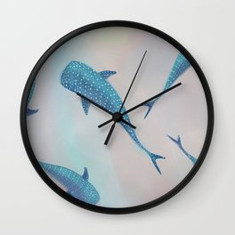 Whale Shark Dream Wall Clock