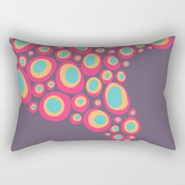 Swirl Dots Rectangular Pillow