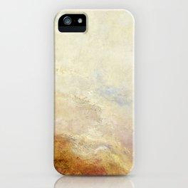 A mountain scene by Joseph Mallord William Turner, 1845 iPhone Case