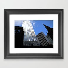 Midtown at Midday Framed Art Print