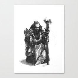 Dwarven Cleric Canvas Print