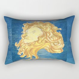 GOLDEN LION Rectangular Pillow