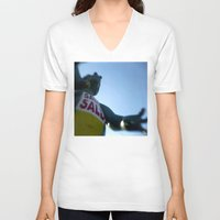 sale V-neck T-shirts featuring SALE SALE by Tyler Hewitt