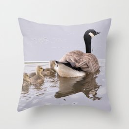 Swimming Lesson Throw Pillow