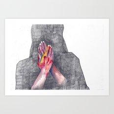 Hands #1 Art Print