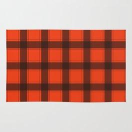 Classic Red Plaid Rug