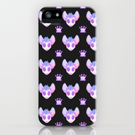 Pastel rodent iPhone Case