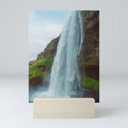 Vintage Seljalandsfoss Mini Art Print