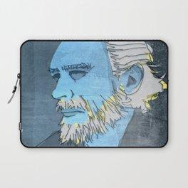 CHARLES BUKOWSKI, AMERICAN WRITER AND BARFLY Laptop Sleeve