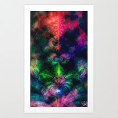 Fractal Space Art Print