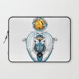 Cosmic Smoking Skyfall Dragon Laptop Sleeve