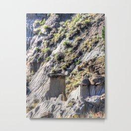 Montana Badlands Metal Print