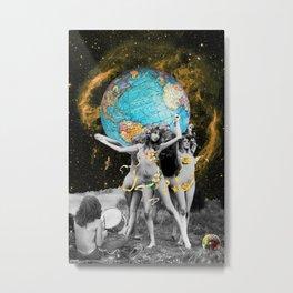 Hippie Neraides Metal Print