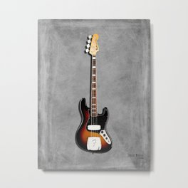 The Jazz Bass 1974 Metal Print