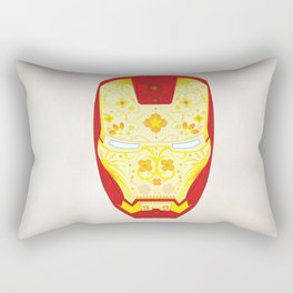 Day Of The Dead Iron Man Rectangular Pillow