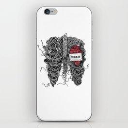 Music inside me iPhone Skin
