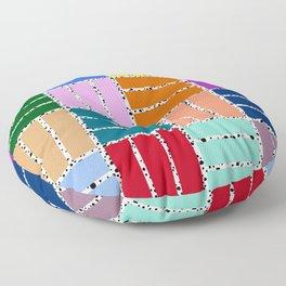 Postmodern Patio Repeat Floor Pillow