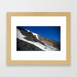 (#127) The Klickitat Glacier Framed Art Print
