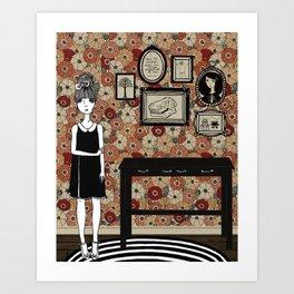 Madeleine's Hallway Art Print