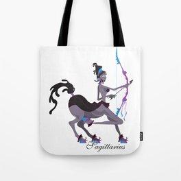 Starlight Sagittarius Tote Bag