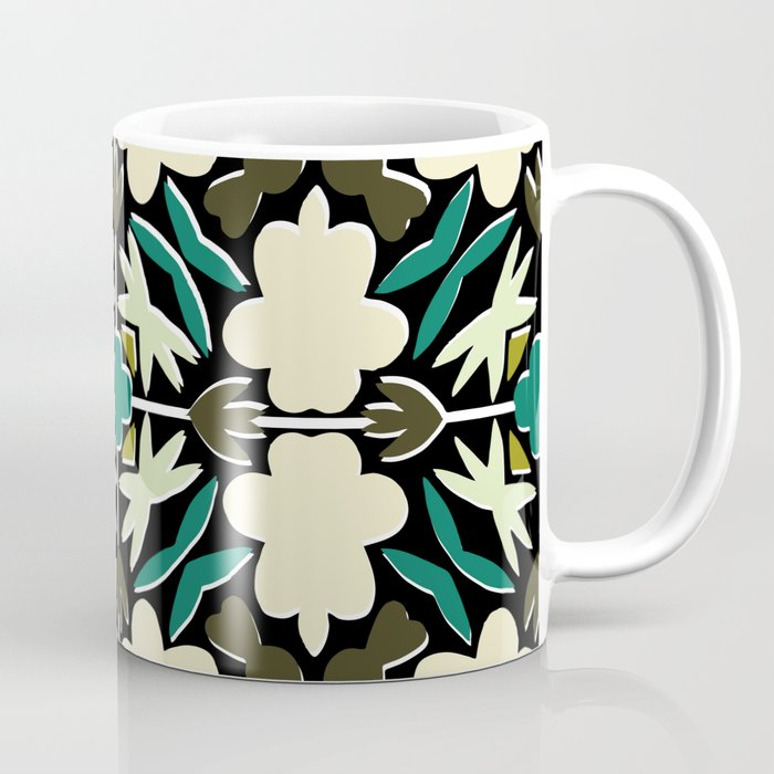 Tropical Dana Coffee Mug by marielleloussot