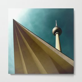 Berliner Tower Art Metal Print